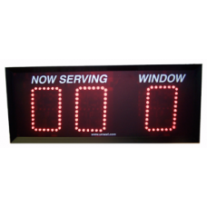 Take a Number Lobby Display #SG-L6W16